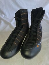 Rival Rsx Speed Black Boxing Wrestling Mma Shoes Boots Us Sz 10