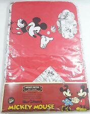 Set Cucina 2 Tovagliette 2 Tovaglioli Caleffi Topolino Mickey Mouse Disney Retro