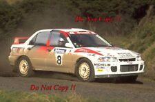 Kenneth Eriksson Mitsubishi Lancer Evo II Nueva Zelanda Rally 1994 fotografía 6