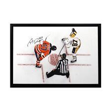 69c7d18ebc5 Connor McDavid Sidney Crosby Signed Framed Edmoton Oilers 20