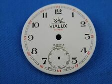 Vintage VIALUX -Super- Pocket Watch Dial 36mm -Swiss Made- #103