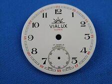 Vintage VIALUX -Super- Pocket Watch Dial 36mm -Swiss Made- #103