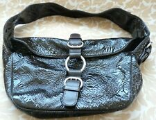 Sigerson Morrison Woman Shoulder bag, Dark Brown,Leather,  Made in Italy
