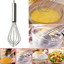 Stainless Steel Hand Whisk Mixer Balloon Milk Beater Kitchen Cooking Tools C