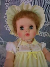 """Vintage 1950s' 24"""" Baby Toodles with Intaglio Eyes, American Character"""