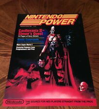 "Nintendo Power Sep Oct 1988 Castlevania II 2 Simons Quest video game 24"" poster"