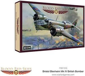 BRISTOL BLENHEIM MK IV BRITISH BOMBER - BLOOD RED SKIES - WARLORD GAMES - WW2