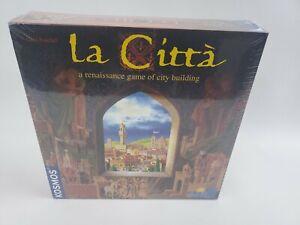 La Citta A Renaissance Game of City Building Rio Grande Games SEALED BRAND NEW