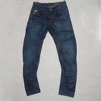 G-star Mens Jeans Raw Denim Arc 3D Slim Size 27 Length 30
