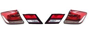 Left Right Outer Inner Genuine Tail Lights Brake Lamps Kit For Civic Si EX Honda