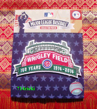 Official MLB 1914 - 2014 Chicago Cubs Wrigley Field 100 Years Collectible Patch