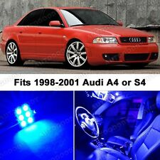17 x Premium Blue LED Lights Interior Package Upgrade for Audi A4 1998-2001