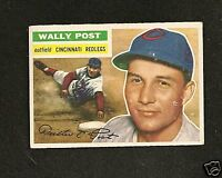 1956 Topps  # 158 Wally Post Vg-Ex