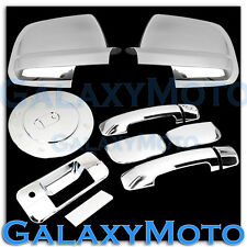07-12 TOYOTA TUNDRA DOUBLE CAB Mirror+Chrome 4 Door Handle+Tailgate+Gas Cover