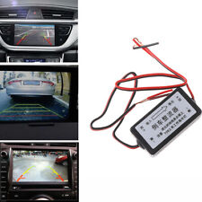 Car Rear View  Backup Camera 12V DC Power Rectifier  Relay Capacitor Filter