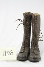 WWII SIZE 9 HIGH HEEL MILITARY BOOTS