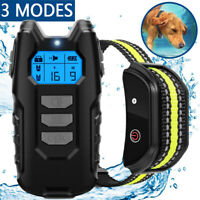 Dog Training Collar Pet Shock Training Remote Control Waterproof Rechargeable