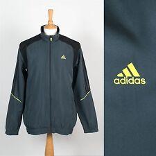 Adidas pour Hommes Gris Léger Haut Survêtement Jogging Veste Windrunner Coque