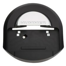 OEM NEW Spare Tire Carrier Cover Black w/Chrome Logo 05-09 Hummer H2 25782333