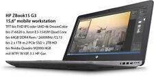 HP ZBook 15 G3 Panther 15,6'' FHD-IPS i7-6700HQ 16GB 250GB-SSD+1000GB ATI-W6150