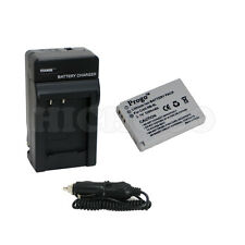 Battery & Charger for Canon NB-5L NB5L Powershot SD790 SX200 SX210 IS SX230 HS
