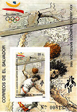 Salvador 1989 Summer Olympic, Barcelona 1992, MNH, perf., DELUXE