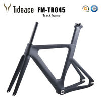 Track Cyclocross Bicycle Frame T800 Carbon Fiber Fixed Gear Bike Frameset OEM