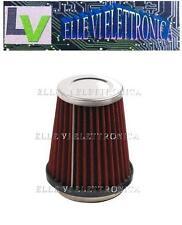 0218/1 Filtro Conico AF-2 Aspirazione Diretta Aria Motore Colore Rosso Argento