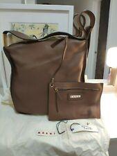 NEW MARNI slouchy tan hobo leather shoulder handbag £648 MADE IN ITALY
