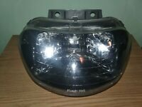 94 95 96 Yamaha Vmax 500 600 Twin Snowmobile Headlight Assembly V MAX Vmax4