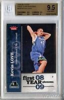 2008/09 Fleer Phenom #PH5 Kevin Love Rookie SP BGS 9.5 GEM MT