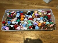 BEANIE BABY MEGA LOT! RARE ITEMS/ERRORS INCLUDED MWMT FREE SHIPPING GREAT DEAL!