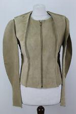 MAISON MARTIN MARGIELA H&A Beige Leather Jacket size Eu 38