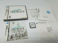 Final Fantasy III Nintendo DS Complete -