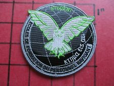 ORIGINAL SQUADRON PATCH FRANCE FRENCH AIR FORCE AERIENNE FORMATION NAVIGANT