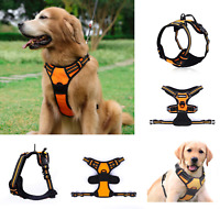 No-Pull Pet Dog Harness Adjustable Outdoor Pet Vest Reflective Oxford Material
