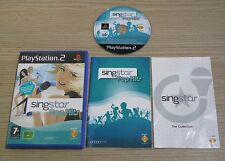 Singstar Pop Hits-PAL-Sony Playstation 2/PS2 Spiel-komplett
