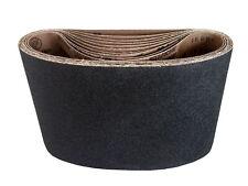 "7-7/8"" x 29-1/2"" Floor Sanding Belts Silicon Carbide Cloth Belts (10 Pack, 100"