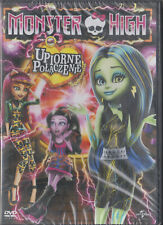 DVD - MONSTER HIGH - UPIORNE POŁĄCZENIE (Monster High: Freaky Fusion) - NEW DVD