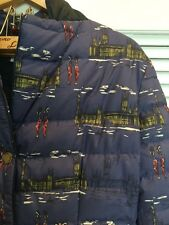 Boden Quilted Jacket Coat In Westminster Print NWOT 10 US Size