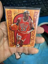 1995 Fleer Flair Hardwood Leaders Michael Jordan #4 Chicago Bulls Vg