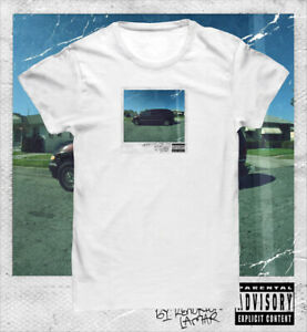 Kendrick Lamar 'Good Kid Maad City' Album Block T shirt
