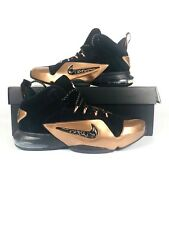 NIKE Air Zoom Size 8.5 Penny VI Basketball Shoes Black Copper 749629-001 New
