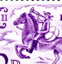 More details for 1960 sg 619a 3d deep lilac broken mane flaw (cyl. 1 no dot r. 17/2) umm