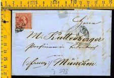 Germania Germany cover envelope Bayern I 593