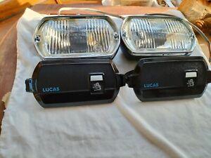Lucas FT 8 Fog Lights    used  (648)