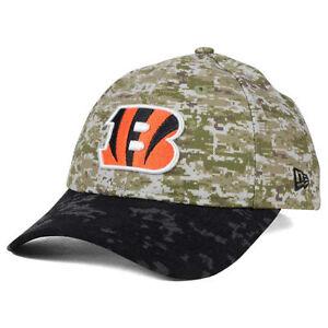 Cincinnati Bengals New Era NFL Women's Salute to Service 9TWENTY Camo Cap Hat OH