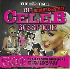 THE ULTIMATE CHRISTMAS CELEB GOSSIP QUIZ ( THE TIMES Promo DVD )