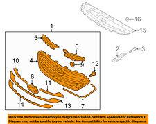 HYUNDAI OEM 13-15 Santa Fe Front Bumper Grille Grill-Assy 863502W010