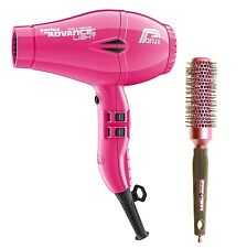Parlux Advance Light Ionic and Ceramic Hair Dryer Fucshia Pink + Free Brush